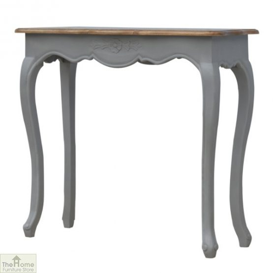 French Grey Console Table_2
