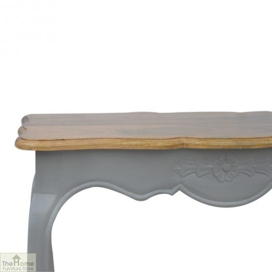French Grey Console Table_6