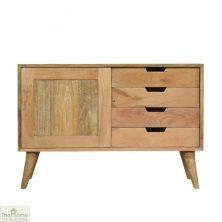 Sliding 4 Drawer Cabinet