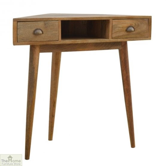 Corner 2 Drawer Console Table_1