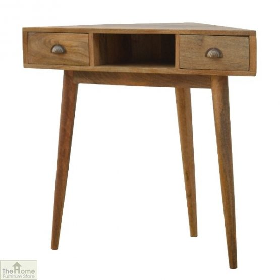 Corner 2 Drawer Console Table_2