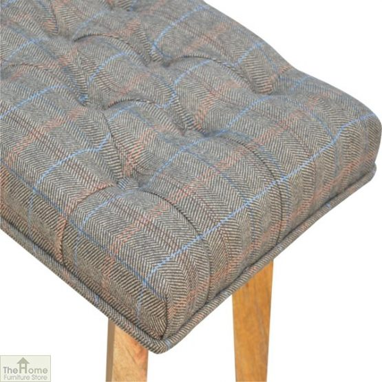 Tweed 1 Drawer Wooden Bench_8