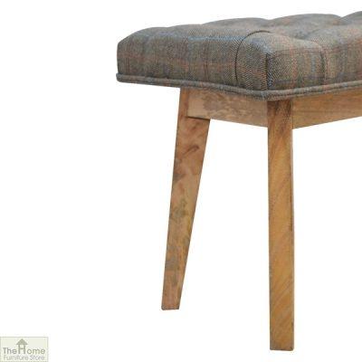 Tweed 1 Drawer Wooden Bench_7