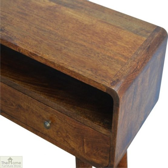 Curved 2 Drawer Console Table_6