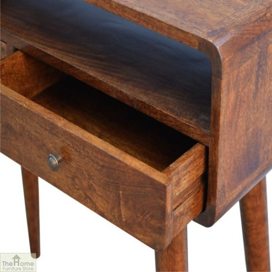 Curved 2 Drawer Console Table_8
