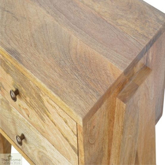 V-Shaped 2 Drawer End Table_7