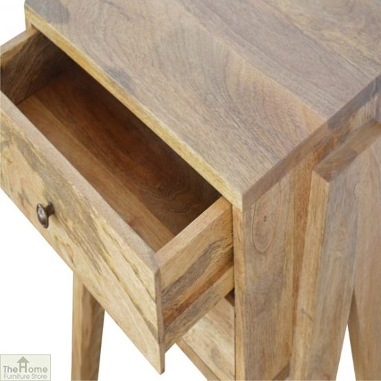 V-Shaped 2 Drawer End Table_6