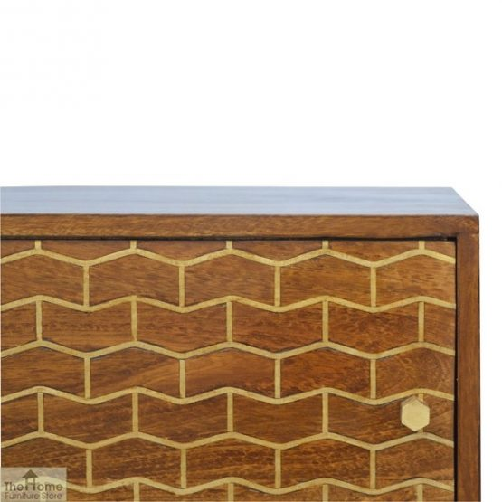 Gold Pattern Sliding Door Cabinet_6