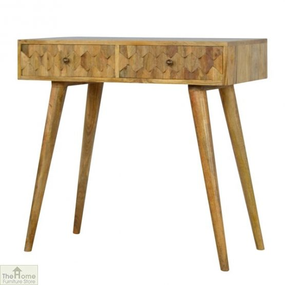 Carved 2 Drawer Console Table_2
