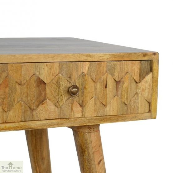 Carved 2 Drawer Console Table_5