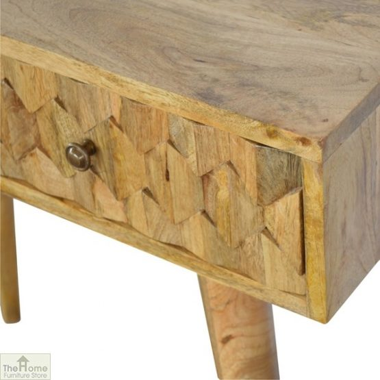 Carved 2 Drawer Console Table_6
