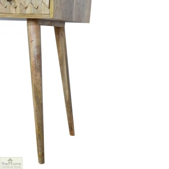 Carved 2 Drawer Console Table_8