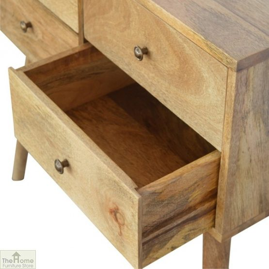 4 Drawer Console Table_5