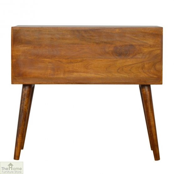 Gold Inlay 4 Drawer Console Table_3