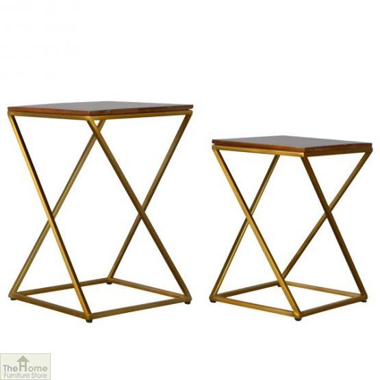 Gold Base Nest 2 Tables_1