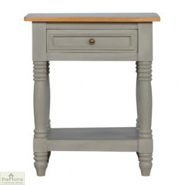 Toulon Grey 1 Drawer End Table