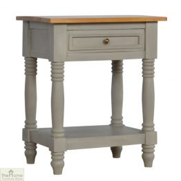 Grey 1 Drawer End Table_1