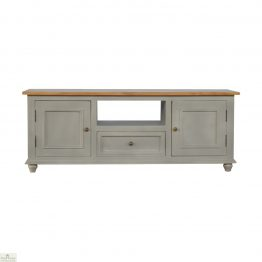 Toulon Grey 2 Door 1 Drawer TV Unit