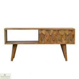 Kaliko Carved Sliding Door TV Unit