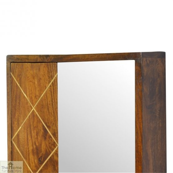 Gold Inlay Mirrored Cabinet_4