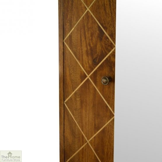 Gold Inlay Mirrored Cabinet_6