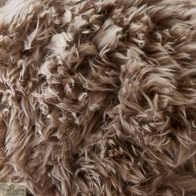 Light Brown Sheepskin Cushion_2