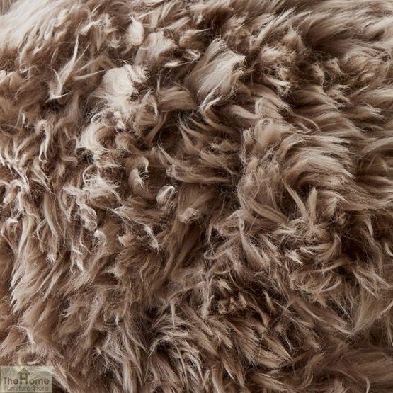 Light Brown Sheepskin Cushion_2