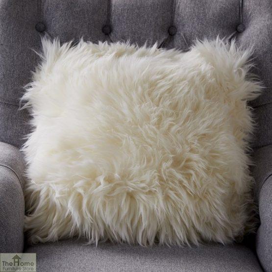 Natural Sheepskin Cushion_1