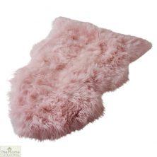 Blush Pink Sheepskin Rug