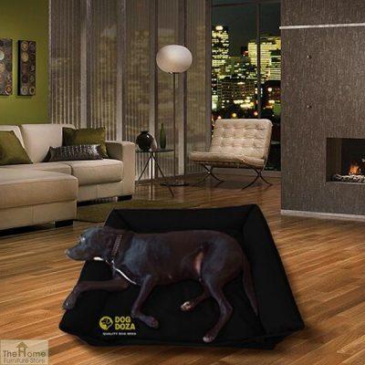 Black Waterproof Dog Sofa Bed_1
