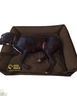 brown waterproof dog sofa bed