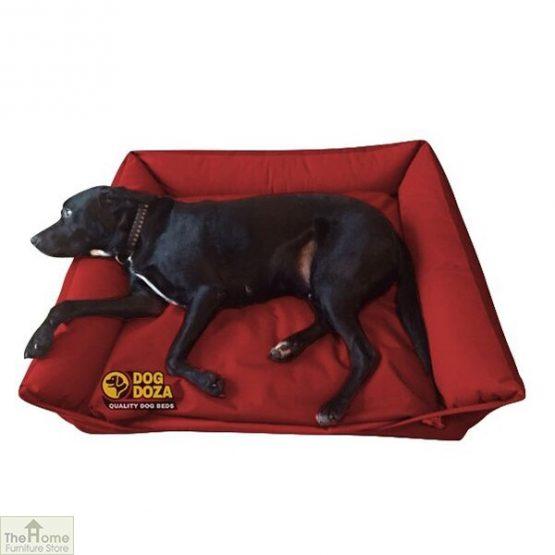 Red Waterproof Dog Sofa Bed