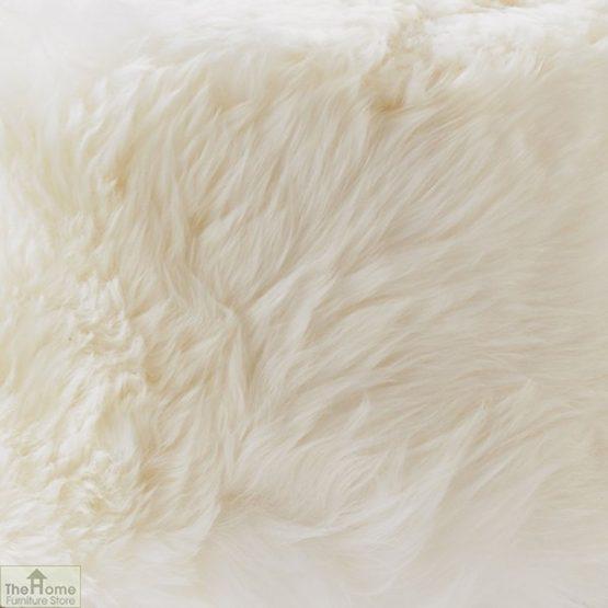 Natural Sheepskin Stool_2