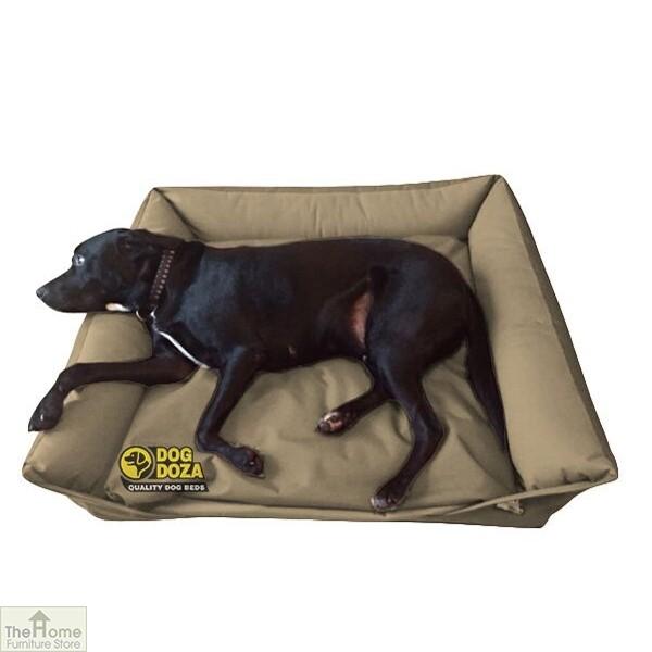Beige Waterproof Dog Sofa Bed