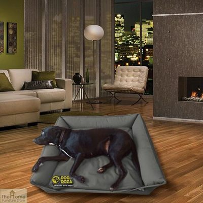 Grey Waterproof Dog Sofa Bed_1
