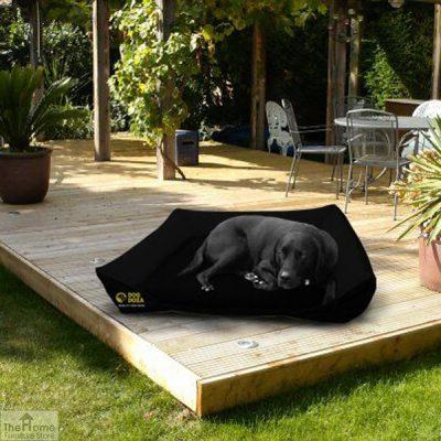 Black Waterproof Dog Sofa Bed_2