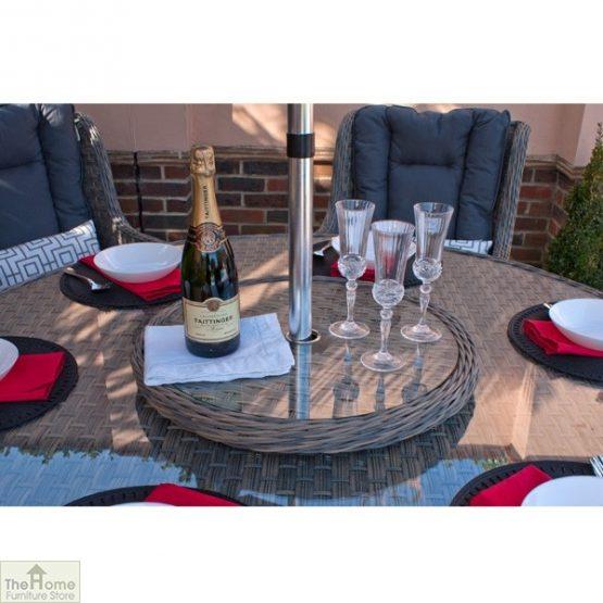 Casamoré Corfu Woodash 6 Seater Round Dining Set_5