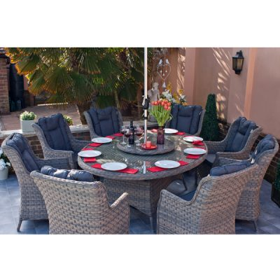 Casamoré Corfu Woodash 8 Seater Oval Dining Set_5