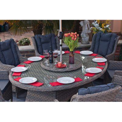 Casamoré Corfu Woodash 8 Seater Oval Dining Set_7
