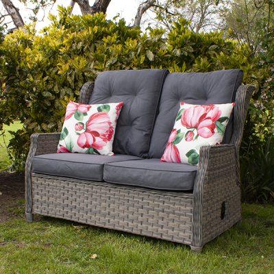 Grey Garden Reclining 2 Seater Sofa_5