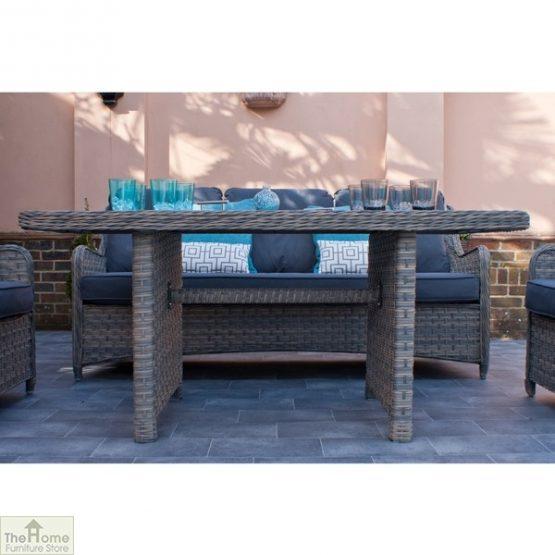 Casamoré Corfu Woodash Rectangular Sofa Dining Set_4