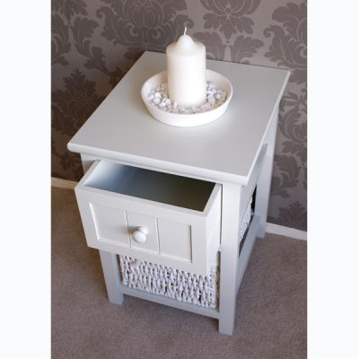 Casamoré Whitehaven 1 Drawer 1 Basket Unit_4
