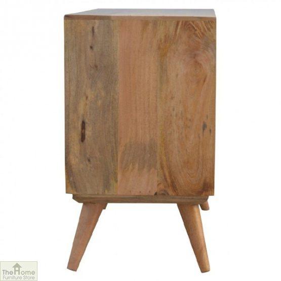 Winchester Grey Sliding 4 Drawer Cabinet_9