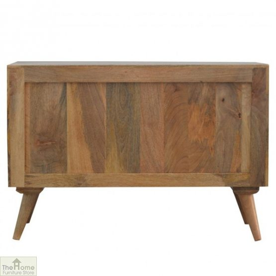 Winchester Grey Sliding 4 Drawer Cabinet_10