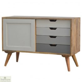 Winchester Grey Sliding 4 Drawer Cabinet_1