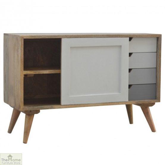 Winchester Grey Sliding 4 Drawer Cabinet_3