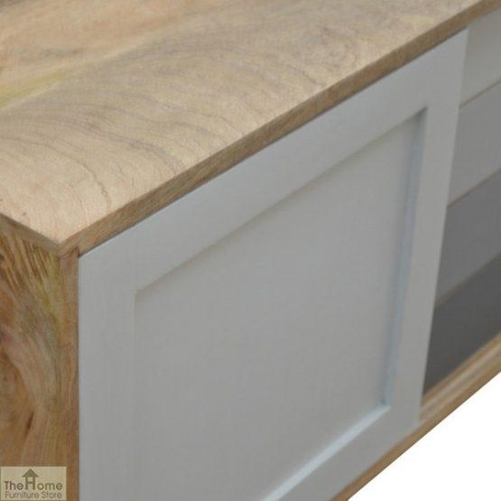 Winchester Grey Sliding 4 Drawer Cabinet_8