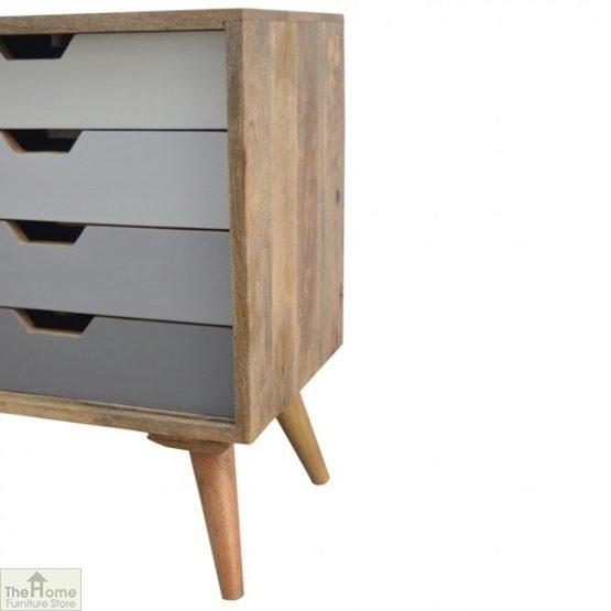 Winchester Grey Sliding 4 Drawer Cabinet_4