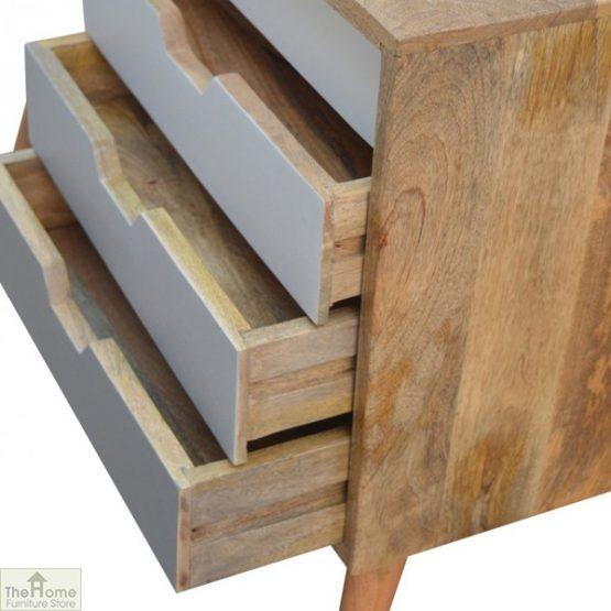 Winchester Grey Sliding 4 Drawer Cabinet_6