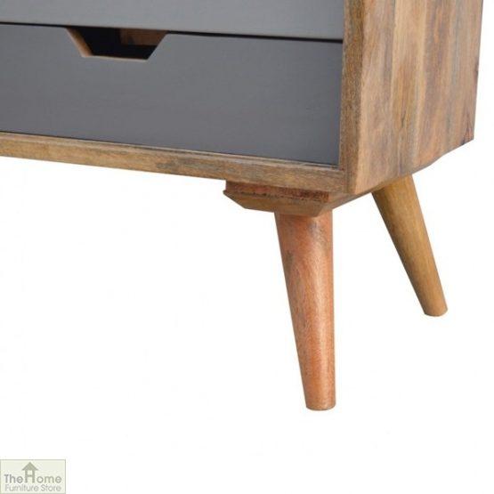 Winchester Grey Sliding 4 Drawer Cabinet_7